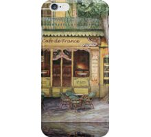The Yellow Cafe iPhone Case/Skin