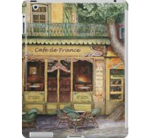 The Yellow Cafe iPad Case/Skin