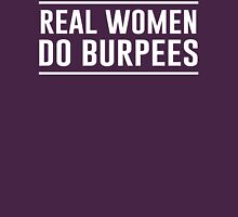Real Women Do Burpees Womens Fitted T-Shirt