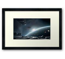 space games Framed Print