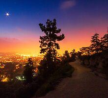 LA sunrise  by Carrie Patterson