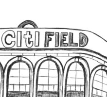 CitiField -NY Mets Stadium Sticker