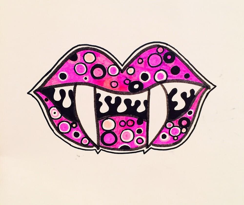Vamp Lips by jaclynrudolf