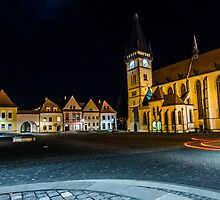 Bardejov square lights by LacoHubaty