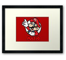 Mario Bubble Framed Print