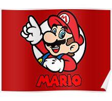 Mario Bubble Poster