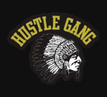 """Hustle Gang Gold"" Long Sleeve by Manoley"