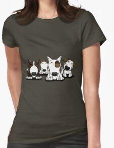 EBT Group Cartoon Design  Womens Fitted T-Shirt