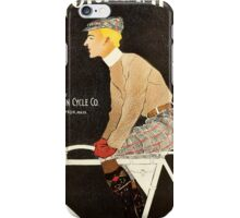 American Golden Age bicycle advertising by Penfield iPhone Case/Skin