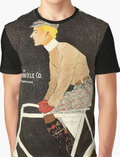 American Golden Age bicycle advertising by Penfield Graphic T-Shirt