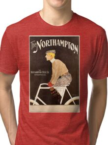 American Golden Age bicycle advertising by Penfield Tri-blend T-Shirt