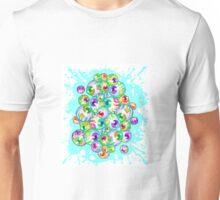 Eyeballsplosion - blue Unisex T-Shirt
