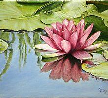 Lotus in the Water by gregoryalex