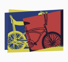 Pop Art Retro Bike by retrorebirth