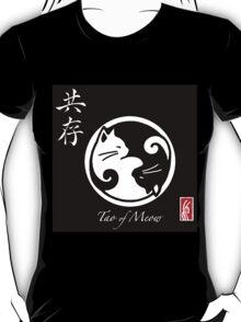 Tao of Meow Dark T-Shirt T-Shirt