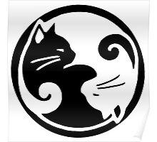 Tao of Meow Dark T-Shirt Poster