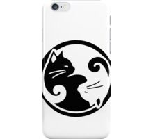 Tao of Meow Dark T-Shirt iPhone Case/Skin