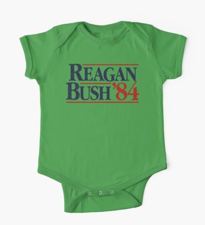 Reagan/Bush '84 One Piece - Short Sleeve