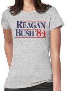 Reagan/Bush '84 Womens Fitted T-Shirt