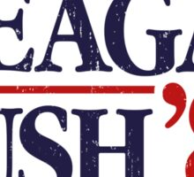 Reagan/Bush '84 Sticker