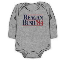 Reagan/Bush '84 One Piece - Long Sleeve