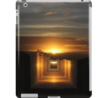 Catch a little sunrise and save it for a rainy day iPad Case/Skin