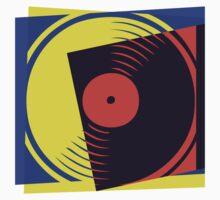 Pop Art Vinyl Record by retrorebirth
