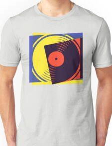 Pop Art Vinyl Record Unisex T-Shirt