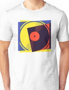 Pop Art Vinyl Record Unisex T-Shirt