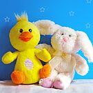 Chickie & Bunny by Susan S. Kline