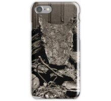 Pile of Wood iPhone Case/Skin