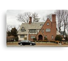Home in Linden Bld Canvas Print