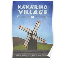 Kakariko Village  Poster