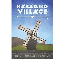 Kakariko Village  Photographic Print