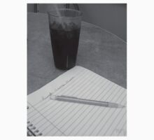 Coke and Poems- B&W by Burn1Em