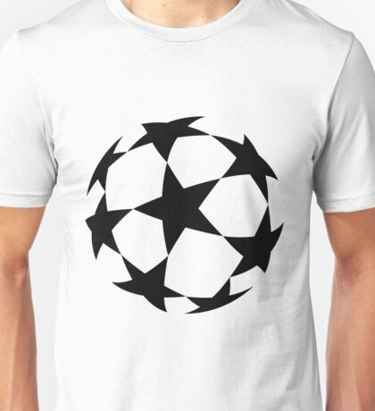 Uefa Champions League Cup black Unisex T-Shirt