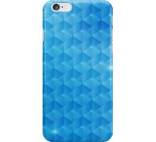 Blue Squares iPhone Case/Skin
