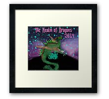 The Realm of Dragons  Framed Print