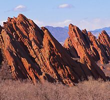 Red Rocks by Bill Hendricks