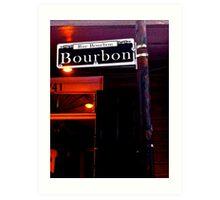 Bourbon Street Art Print