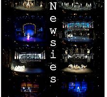 Newsies set and colors by broadwaycrazed