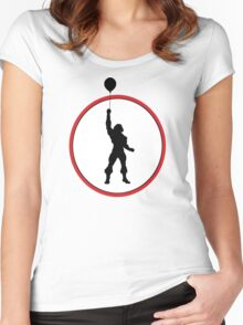 I HAVE THE BALLOON! 2 Women's Fitted Scoop T-Shirt