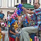 Balloon Man by phil decocco