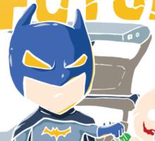 Bat to the Future Sticker
