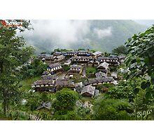 Ghandruk Village Photographic Print