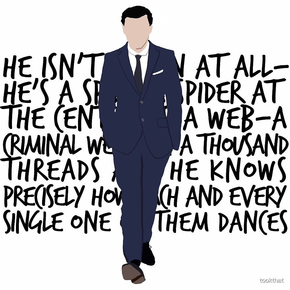 James Moriarty by tookthat