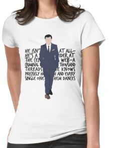 James Moriarty Womens Fitted T-Shirt