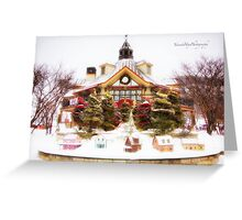 Winter Time in Tremblant Greeting Card