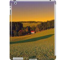 Beautiful sundown in the countryside | landscape photography iPad Case/Skin
