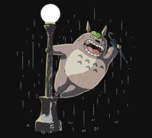 Totoro in the Rain T-Shirt